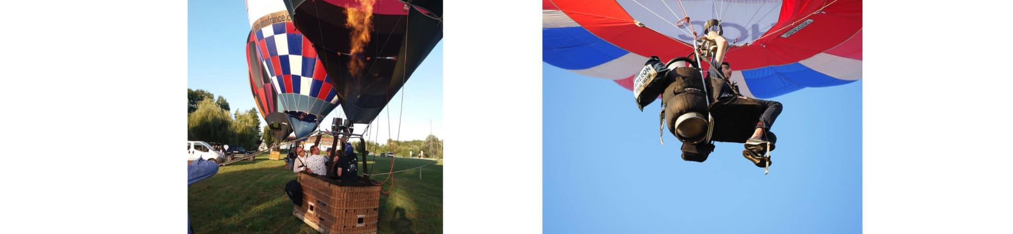 formations pilotes montgolfière à Dole - Jura