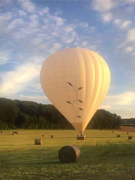 team building montgolfière