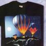 VETC-0019 – Tee-shirt noir imprimé 100% coton