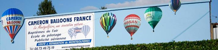 locaux cameron balloons france dole montgolfiere