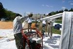 Préparation de la Montgolfière Krug